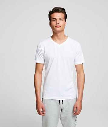 KARL LAGERFELD 2-PACK V-NECK T-SHIRTS