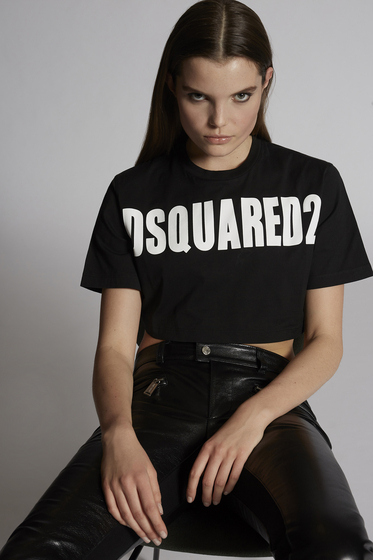 DSQUARED2 Short sleeve t-shirt Woman S72FZ0066STN878961 m