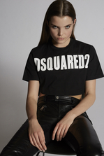 DSQUARED2 Dsquared2 Cropped T-Shirt Short sleeve t-shirt Woman