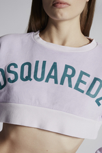 DSQUARED2 Dsquared2 Cropped Sweatshirt Sweatshirt Woman