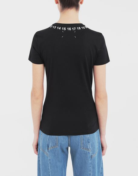 MAISON MARGIELA Logo-embellished jersey T-shirt Short sleeve t-shirt Woman e