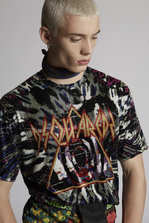 DSQUARED2 All-Over Embroidered Tie And Dye T-Shirt Short sleeve t-shirt Man