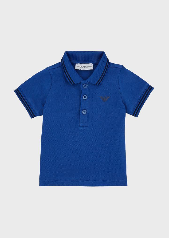f70e190d Cotton piqué polo shirt