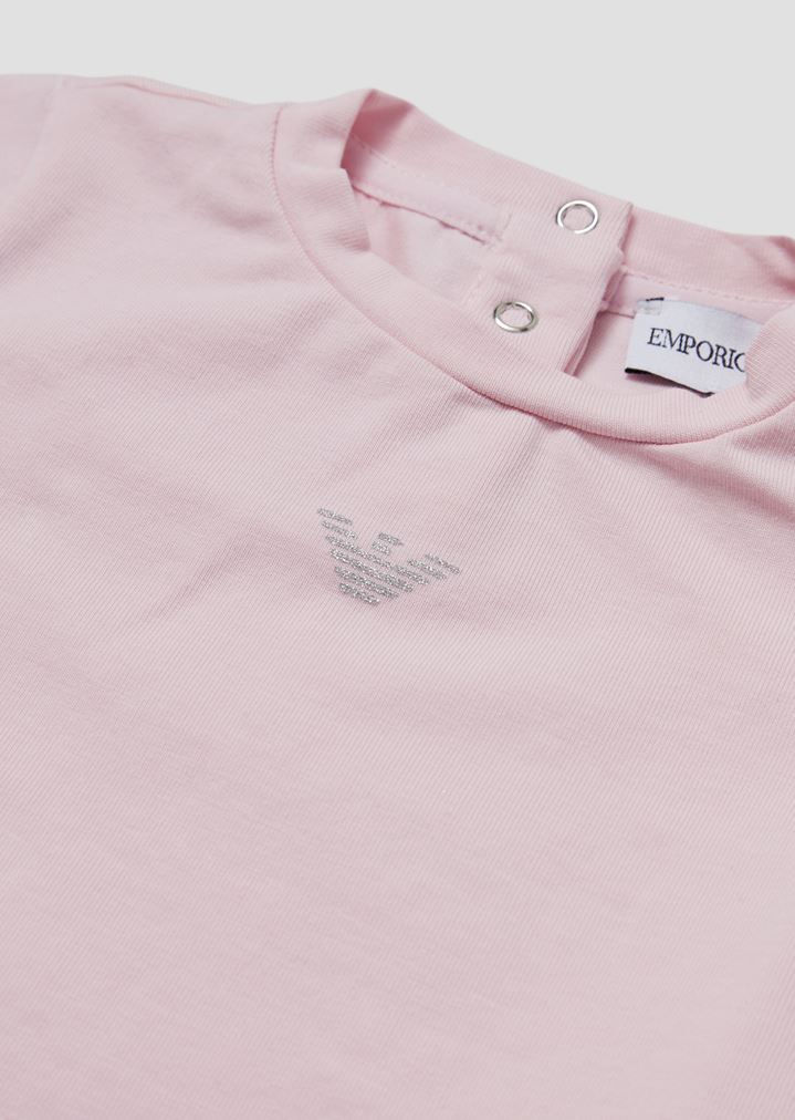 b9bbcb1594 T-shirt in soft jersey with glitter logo