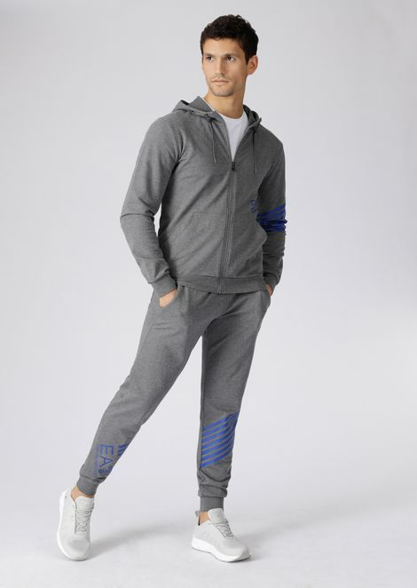 Train 7Colours pure cotton sweatshirt with hood