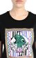 JUST CAVALLI T-shirt with scarf print Short sleeve t-shirt Woman e
