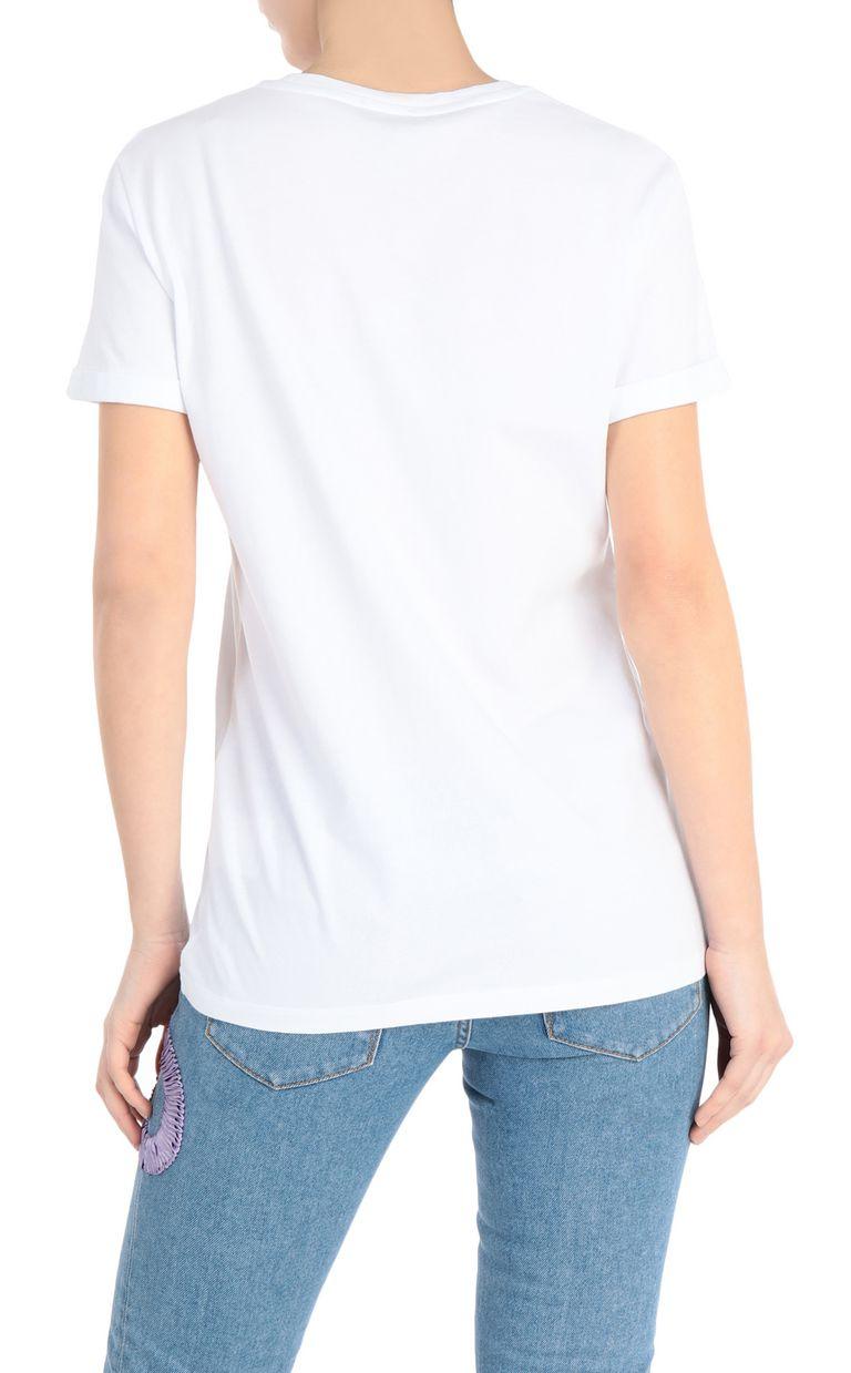 JUST CAVALLI T-shirt with leopard logo Short sleeve t-shirt [*** pickupInStoreShipping_info ***] r