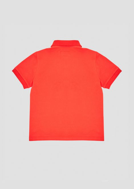 Stretch cotton Manga Bear polo shirt