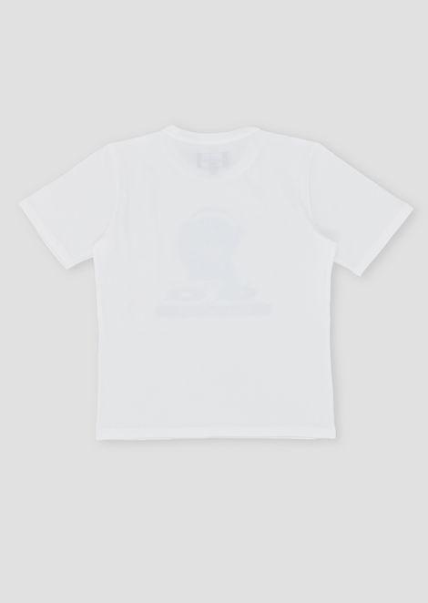 Pure cotton Manga Bear T-shirt