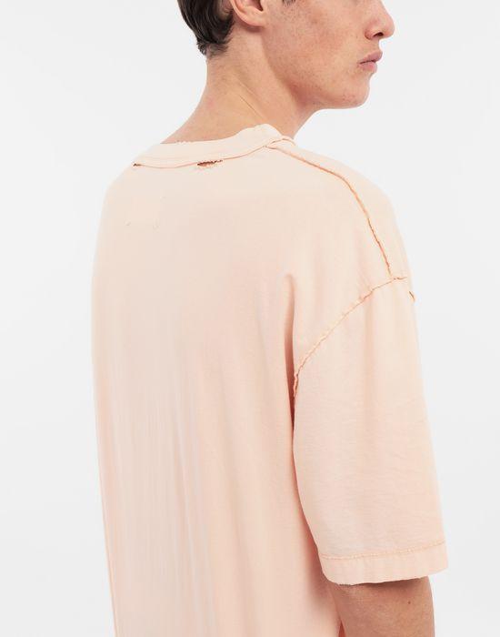 MAISON MARGIELA T-shirt en coton avec imprimé graphique T-shirt manches courtes [*** pickupInStoreShippingNotGuaranteed_info ***] b