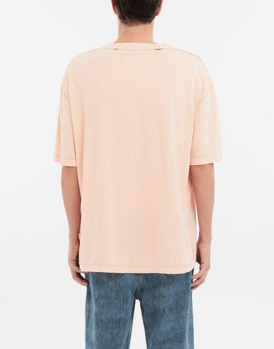 MAISON MARGIELA T-shirt en coton avec imprimé graphique T-shirt manches courtes [*** pickupInStoreShippingNotGuaranteed_info ***] e