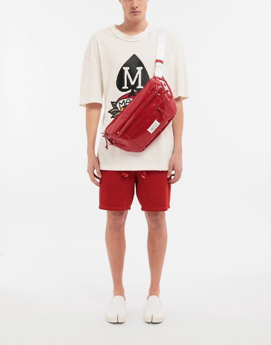 MAISON MARGIELA M Spade ロゴ プリント Tシャツ T シャツ [*** pickupInStoreShippingNotGuaranteed_info ***] d
