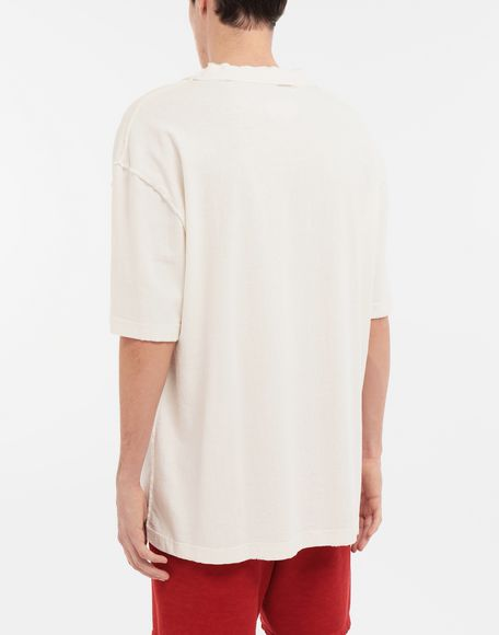 MAISON MARGIELA M Spade logo printed T-shirt Short sleeve t-shirt Man e