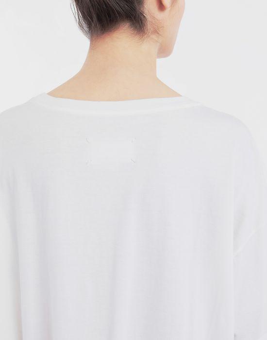 MAISON MARGIELA Cartoon-print oversized T-Shirt Short sleeve t-shirt [*** pickupInStoreShipping_info ***] b