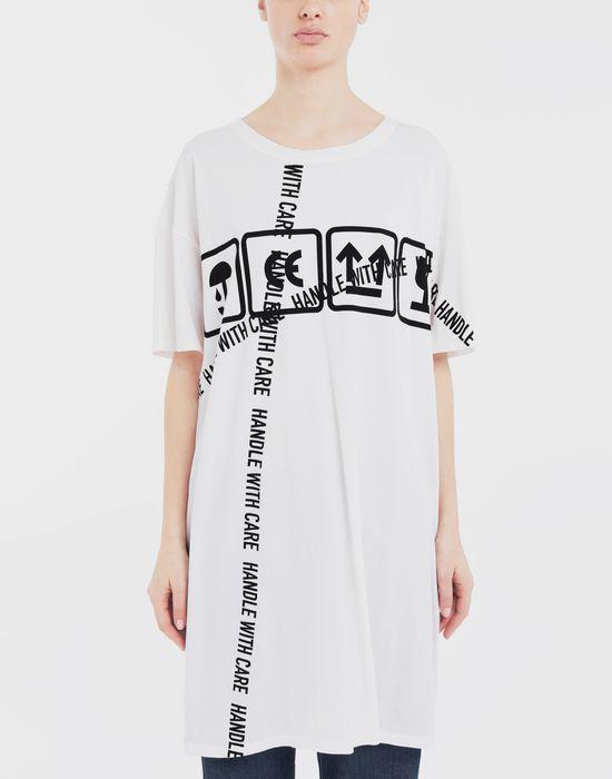 MAISON MARGIELA Cartoon-print oversized T-Shirt Short sleeve t-shirt [*** pickupInStoreShipping_info ***] r