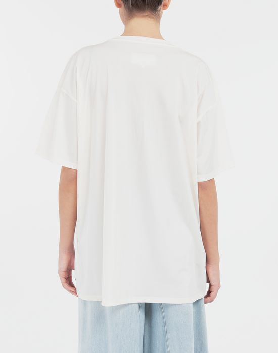 MM6 MAISON MARGIELA Cut-out jersey T-shirt Short sleeve t-shirt [*** pickupInStoreShipping_info ***] e