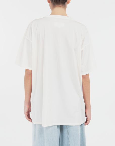 MM6 MAISON MARGIELA Cut-out jersey T-shirt Short sleeve t-shirt Woman e