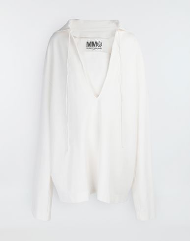 MM6 MAISON MARGIELA Top [*** pickupInStoreShipping_info ***] Oversized sailor sweatshirt f
