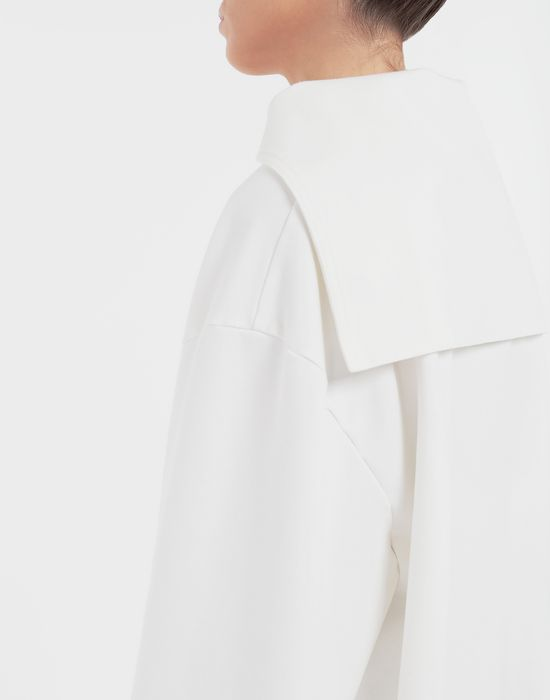 MM6 MAISON MARGIELA Oversized sailor sweatshirt Top [*** pickupInStoreShipping_info ***] b
