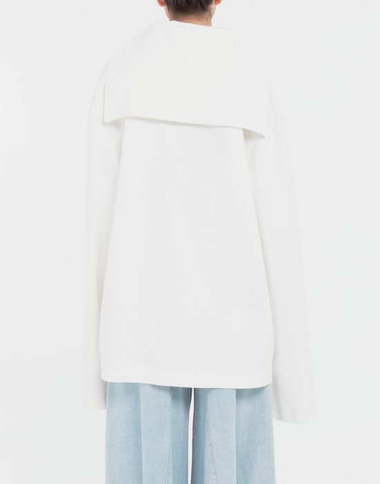 MM6 MAISON MARGIELA Oversized sailor sweatshirt Top [*** pickupInStoreShipping_info ***] e