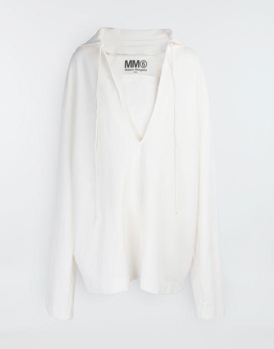 MM6 MAISON MARGIELA Oversized sailor sweatshirt Top [*** pickupInStoreShipping_info ***] f