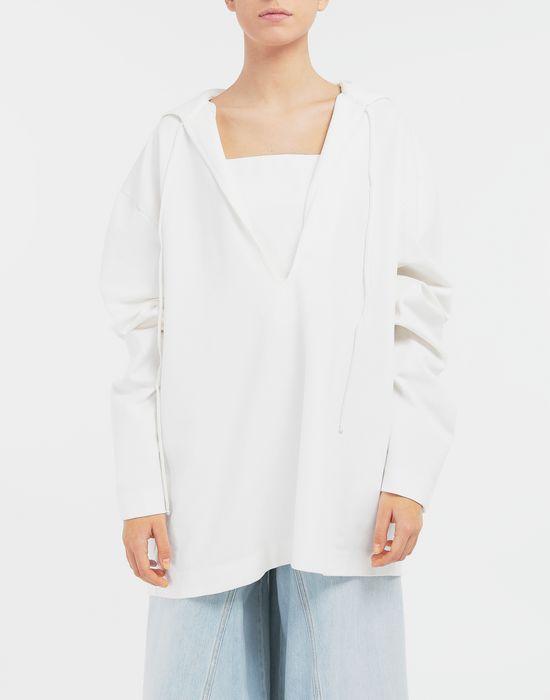 MM6 MAISON MARGIELA Oversized sailor sweatshirt Top [*** pickupInStoreShipping_info ***] r