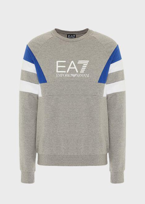 Train 7Colours multicolored sweatshirt in pure cotton
