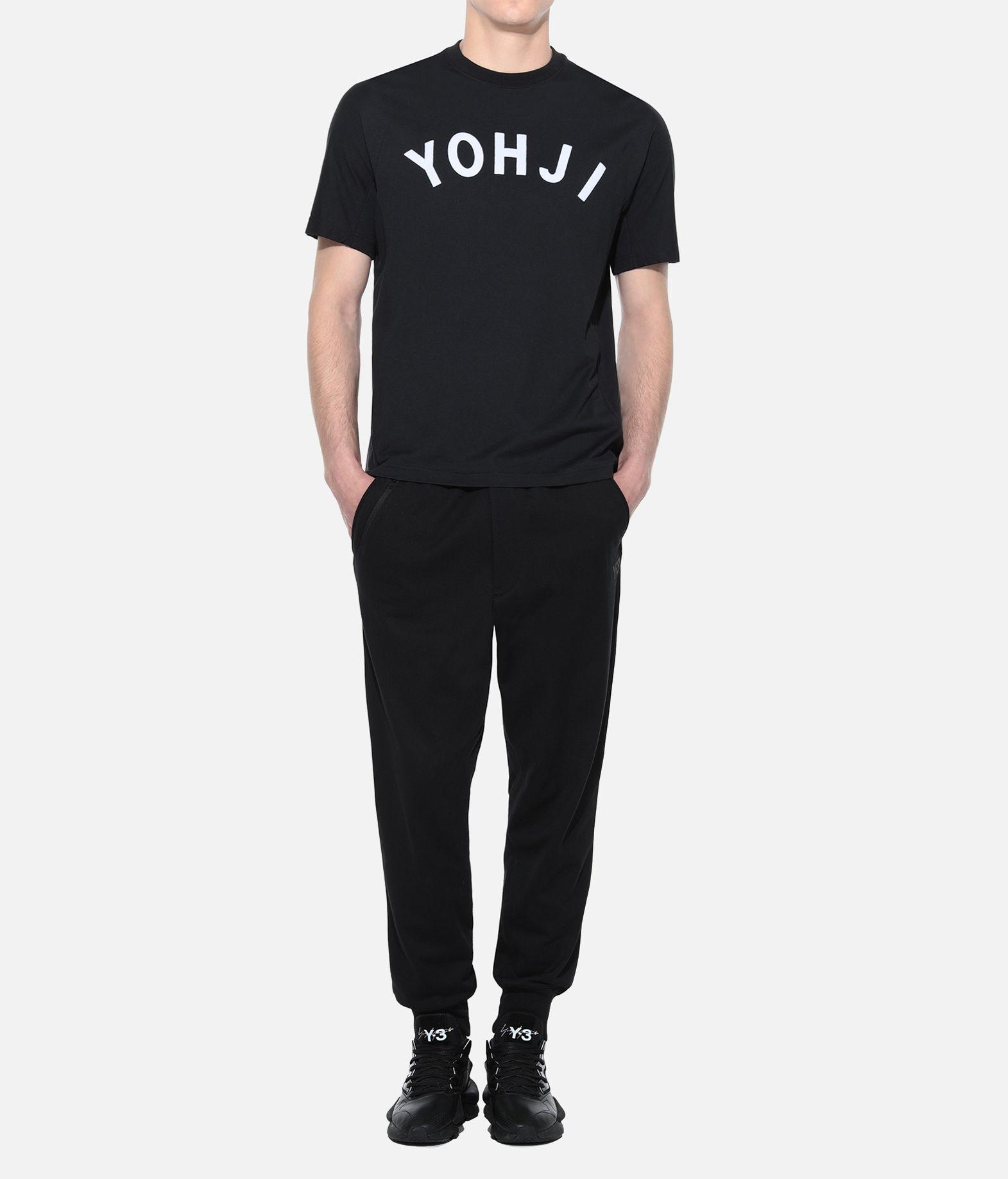 Y-3 Y-3 Yohji Letters Tee T-shirt maniche corte Uomo a