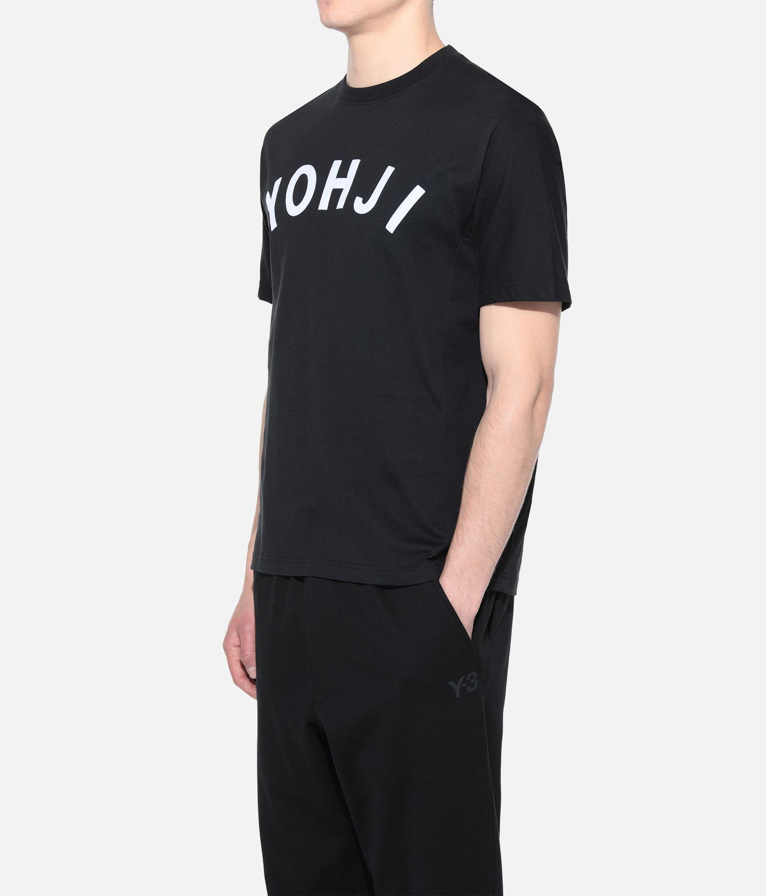Y-3 Y-3 Yohji Letters Tee T-shirt maniche corte Uomo e