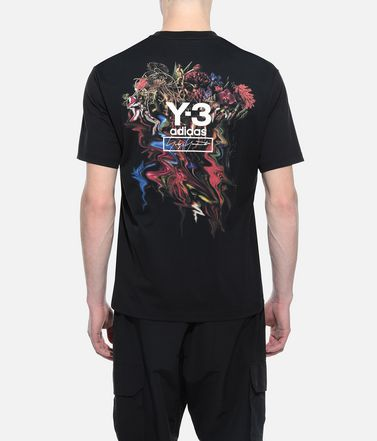 Y-3 Short sleeve t-shirt Man Y-3 Toketa Print Tee r