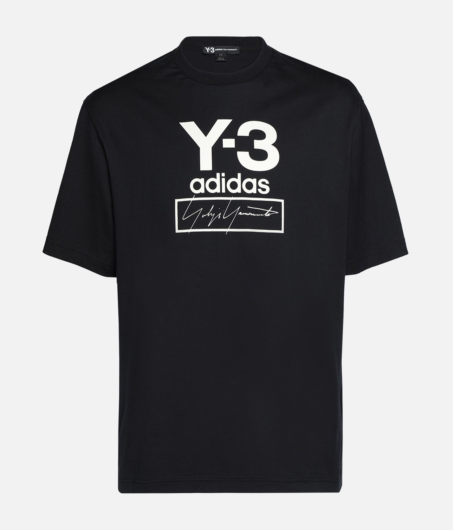 Y-3 Y-3 Stacked Logo Tee Short sleeve t-shirt Man f