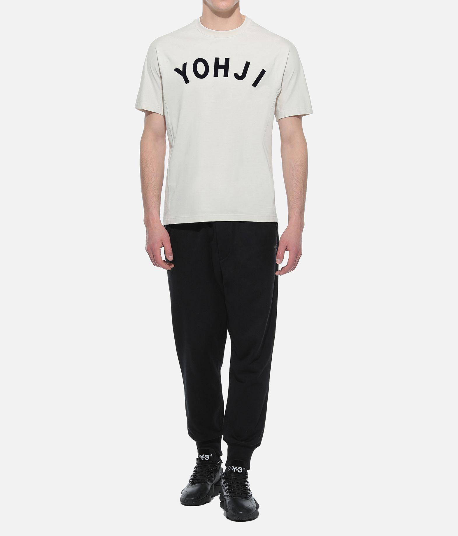 Y-3 Y-3 Yohji Letters Tee Short sleeve t-shirt Man a