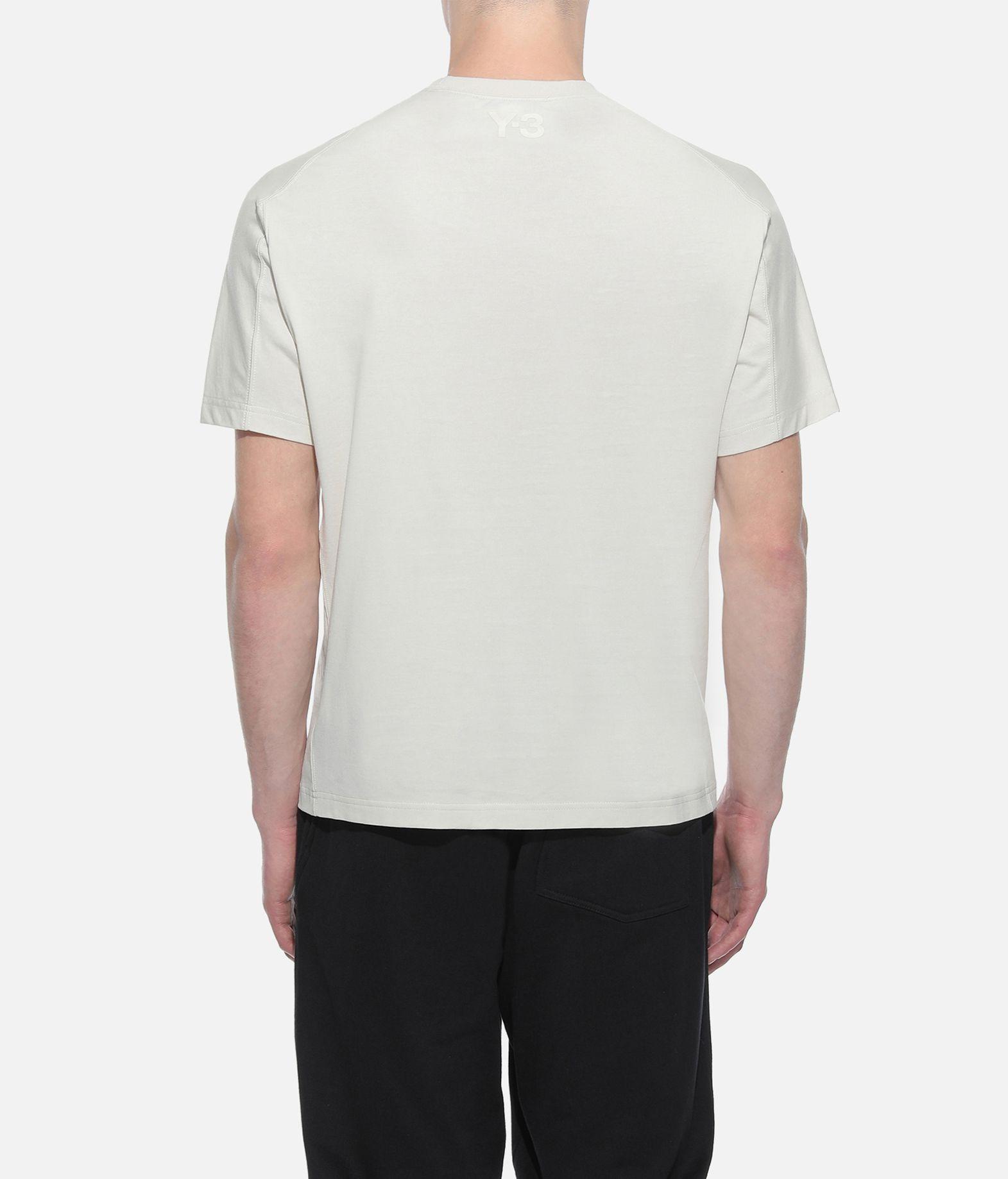Y-3 Y-3 Yohji Letters Tee Short sleeve t-shirt Man d