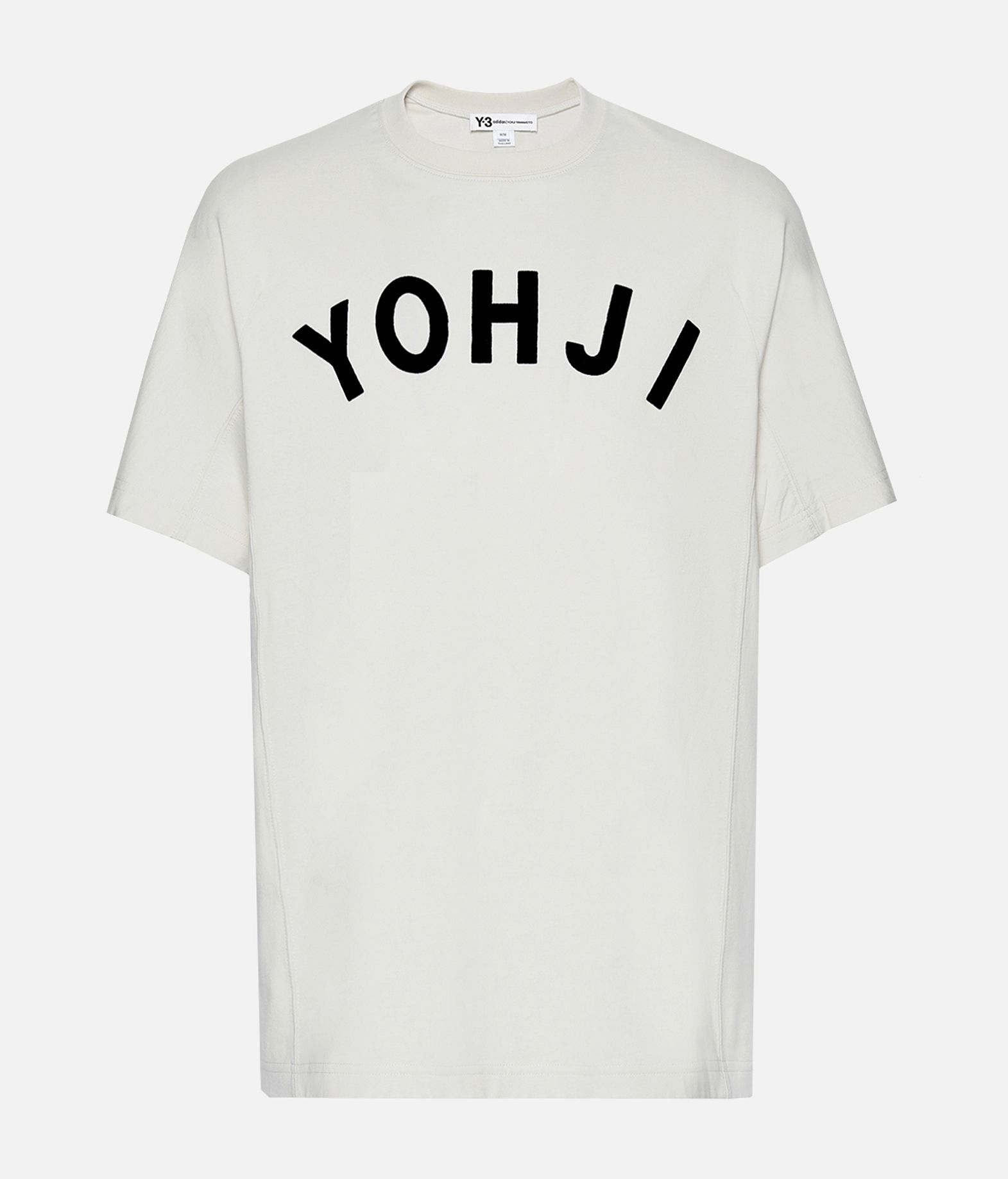 Y-3 Y-3 Yohji Letters Tee Short sleeve t-shirt Man f