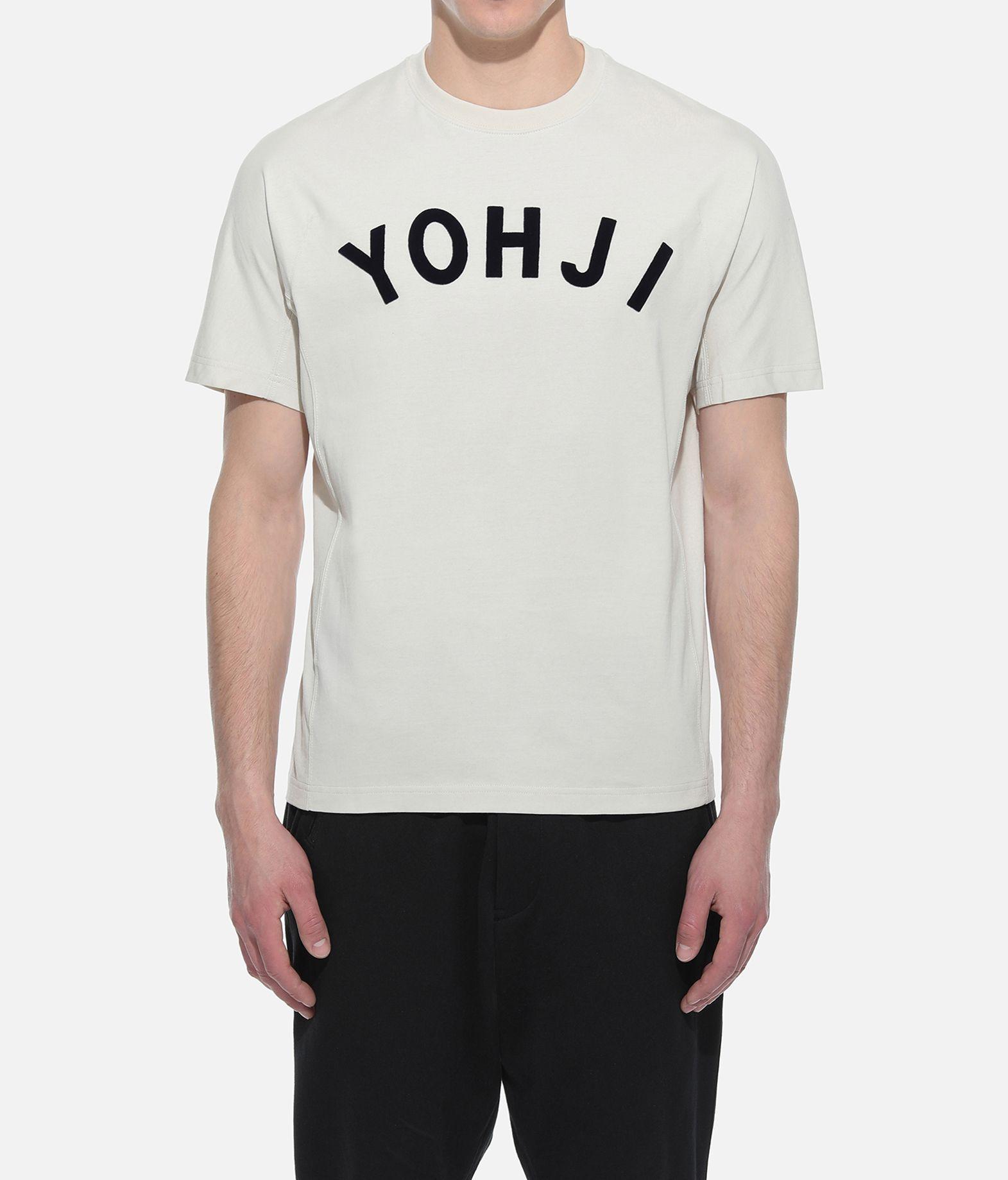 Y-3 Y-3 Yohji Letters Tee Short sleeve t-shirt Man r