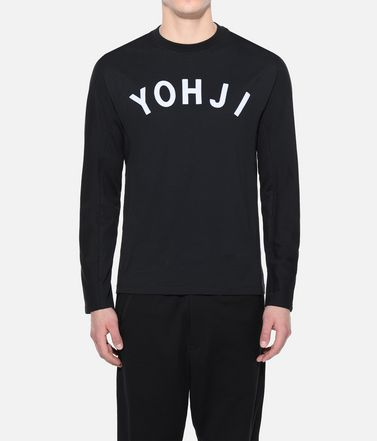 Y-3 Long sleeve t-shirt Man Y-3 Yohji Letters Tee r