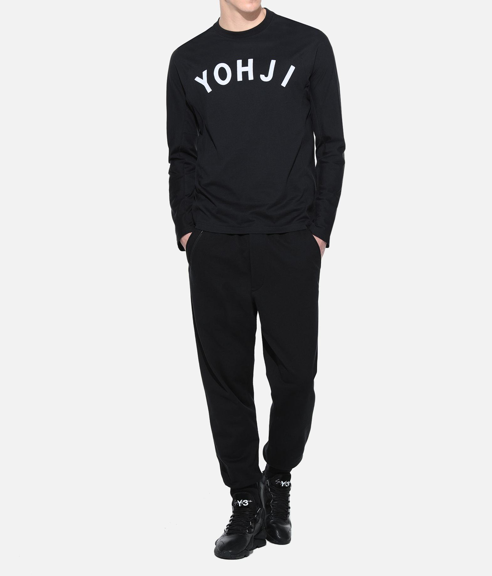 Y-3 Y-3 Yohji Letters Tee Long sleeve t-shirt Man a