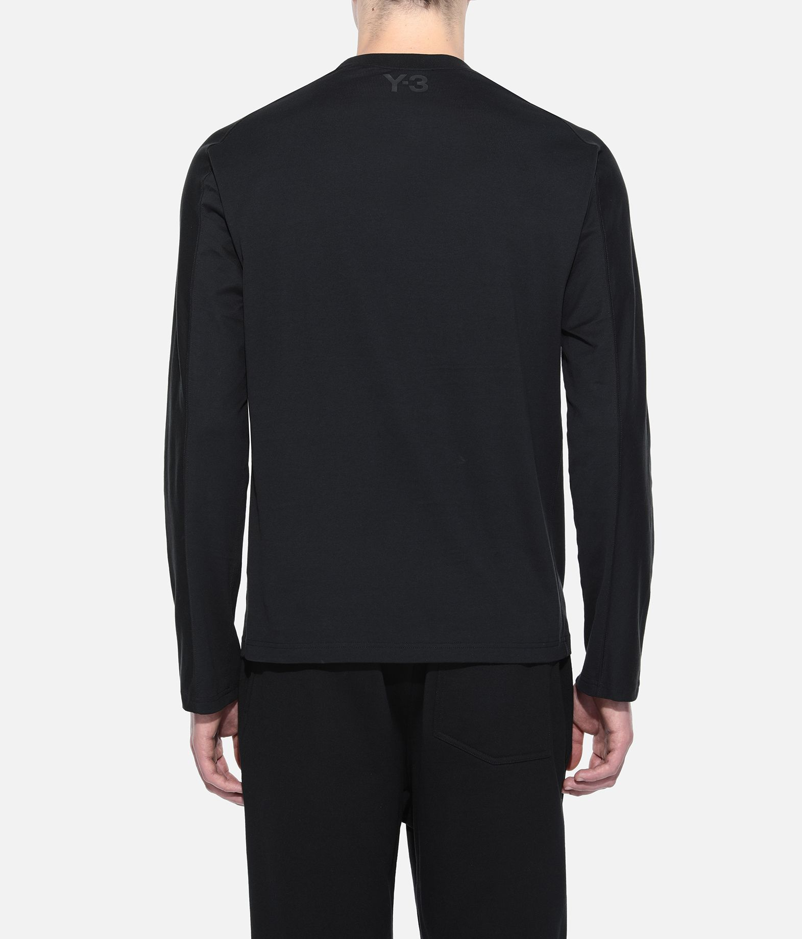 Y-3 Y-3 Yohji Letters Tee Long sleeve t-shirt Man d