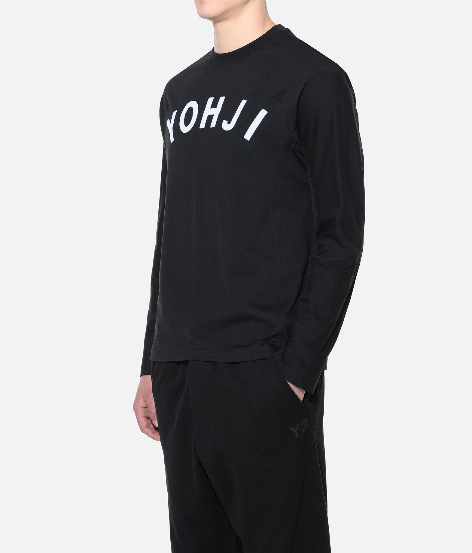 Y-3 Y-3 Yohji Letters Tee Long sleeve t-shirt Man e