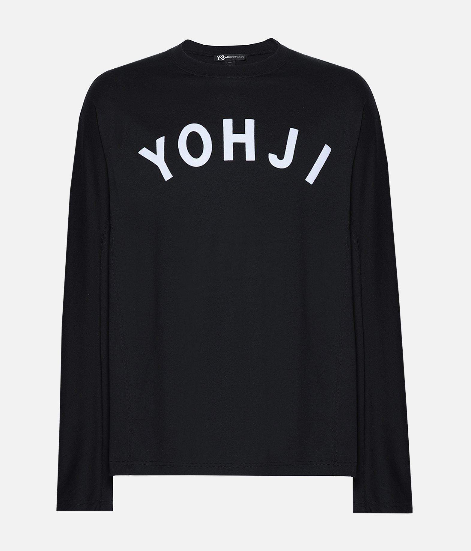 Y-3 Y-3 Yohji Letters Tee Long sleeve t-shirt Man f