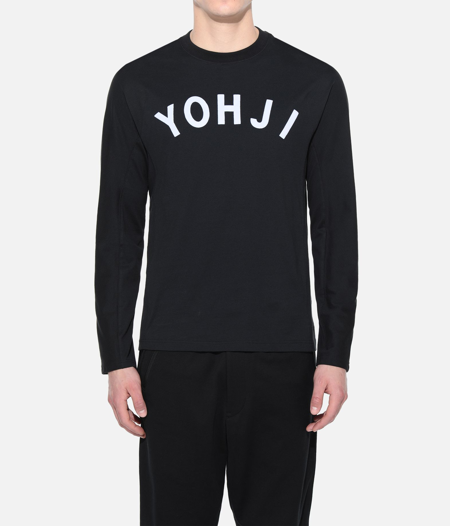 Y-3 Y-3 Yohji Letters Tee Long sleeve t-shirt Man r