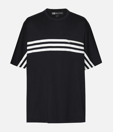 Y-3 3-Stripes Packable Tee