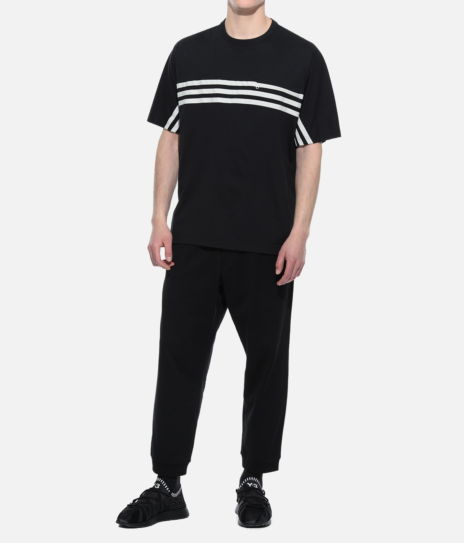 Y-3 Y-3 3-Stripes Packable Tee Short sleeve t-shirt Man a