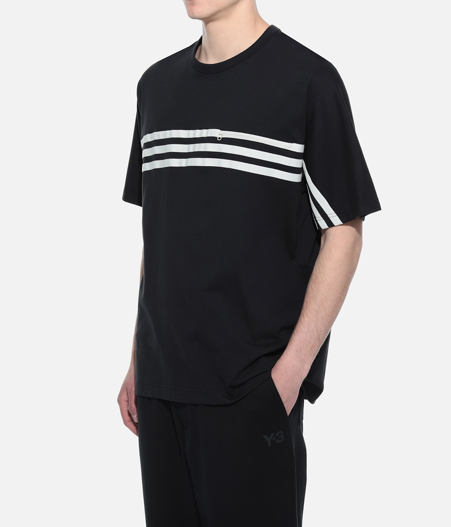 Y-3 Y-3 3-Stripes Packable Tee Short sleeve t-shirt Man e