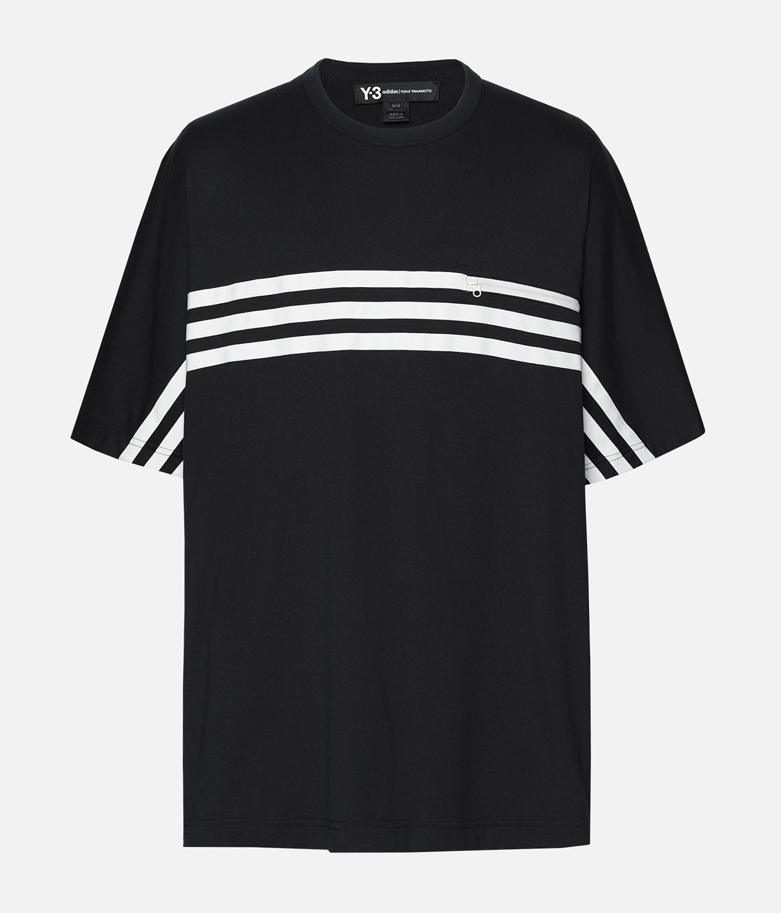 Y-3 Y-3 3-Stripes Packable Tee Short sleeve t-shirt Man f