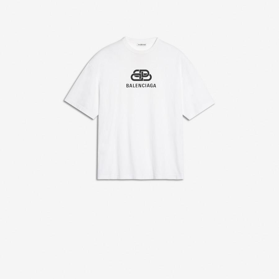 cebcd8d2 BALENCIAGA Oversized BB Balenciaga T-Shirt T-SHIRT & SWEATSHIRTS Woman ...