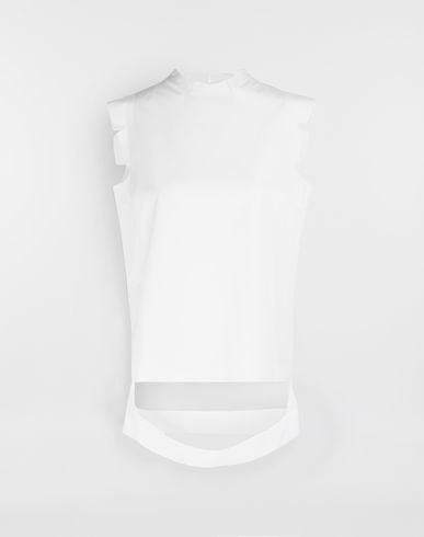 MAISON MARGIELA Top [*** pickupInStoreShipping_info ***] Décortiqué shirt f