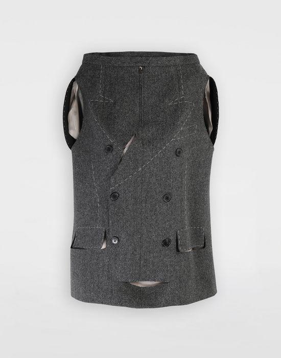 MAISON MARGIELA Tailored skirt cape top Top [*** pickupInStoreShipping_info ***] f