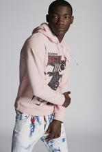 DSQUARED2 Vicious Bros Hooded Sweatshirt Sweatshirt Man