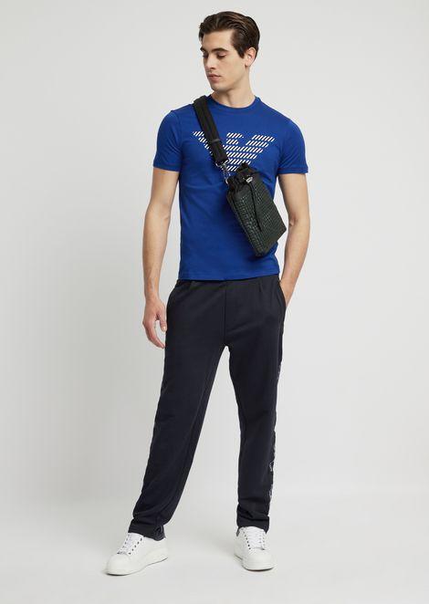 Tシャツ コットン製 ロゴプリント入り